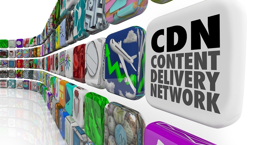 CDN Content Delivery Network App Program Software Network Server